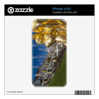 Saint Petersburg, Grand Cascade fountains 10 Skin For The iPhone 4