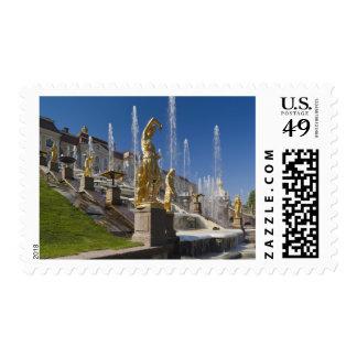Saint Petersburg, Grand Cascade fountains 12 Postage