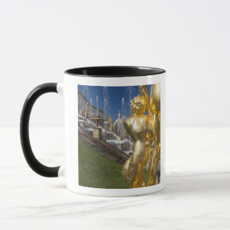 Saint Petersburg, Grand Cascade fountains 2 Mug