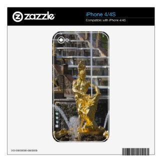 Saint Petersburg, Grand Cascade fountains 3 iPhone 4S Skin