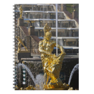 Saint Petersburg, Grand Cascade fountains 3 Notebook