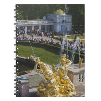 Saint Petersburg, Grand Cascade fountains 5 Notebook