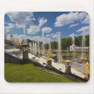 Saint Petersburg, Grand Cascade fountains 6 Mouse Pad