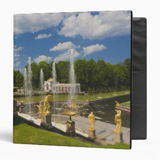 Saint Petersburg, Grand Cascade fountains 7 3 Ring Binder