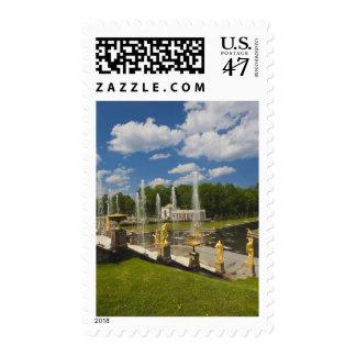 Saint Petersburg, Grand Cascade fountains 7 Postage