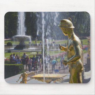 Saint Petersburg, Grand Cascade fountains 9 Mouse Pad
