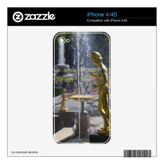 Saint Petersburg, Grand Cascade fountains 9 Decals For The iPhone 4