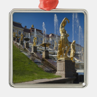 Saint Petersburg, Grand Cascade fountains Metal Ornament