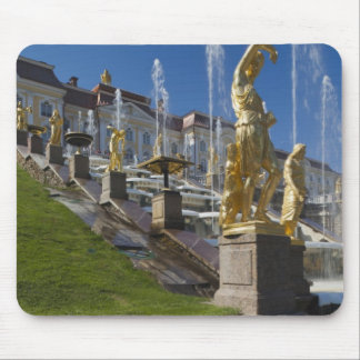 Saint Petersburg, Grand Cascade fountains Mouse Pad