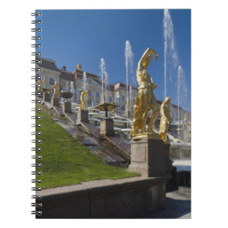 Saint Petersburg, Grand Cascade fountains Notebook