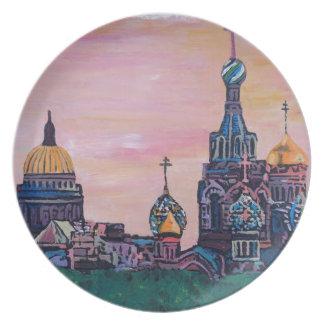 Saint Petersburg II Dinner Plate