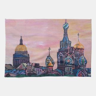 Saint Petersburg II Hand Towel
