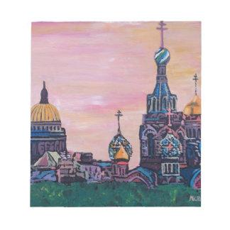 Saint Petersburg II Notepad