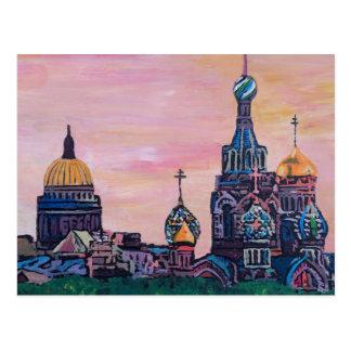 Saint Petersburg II Postcard