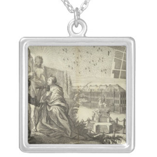 Saint Petersburg, Russia 6 Silver Plated Necklace