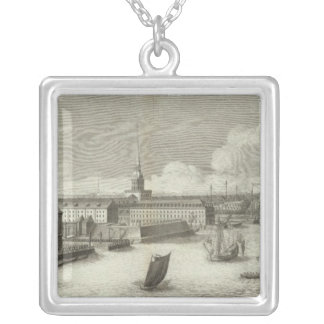 Saint Petersburg, Russia Silver Plated Necklace