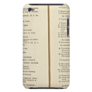 Saint Petersburg, Russia Title Page Index Page 2 Case-Mate iPod Touch Case