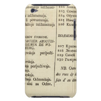 Saint Petersburg, Russia Title Page Index Page 3 iPod Case-Mate Case