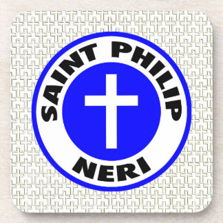 Saint Philip Neri Beverage Coaster