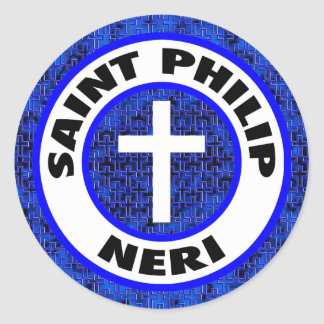 Saint Philip Neri Classic Round Sticker