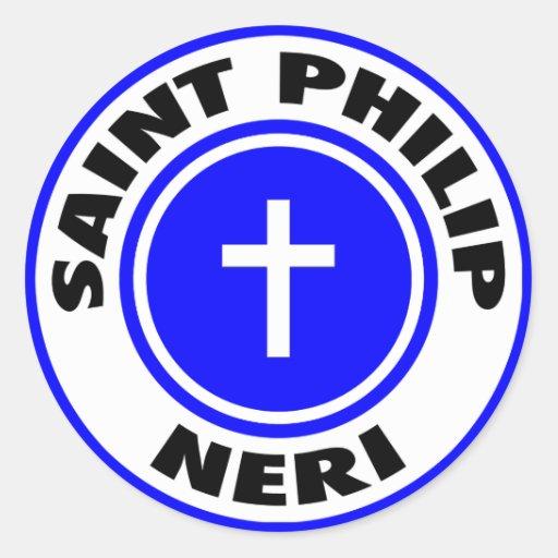 Saint Philip Neri Classic Round Sticker