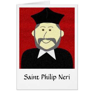 Saint Philip Neri Greeting Card