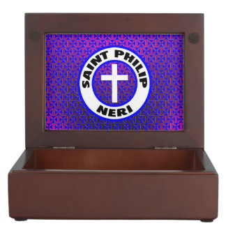 Saint Philip Neri Keepsake Box