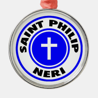 Saint Philip Neri Metal Ornament