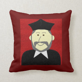 Saint Philip Neri Throw Pillow