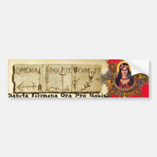 Saint Philomena Bumper Sticker