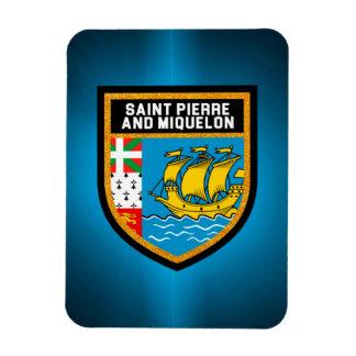 Saint Pierre And Miquelon Flag Magnet