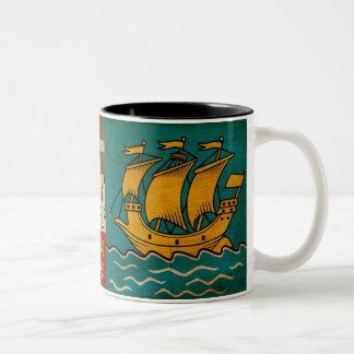 Saint Pierre and Miquelon Flag Mug
