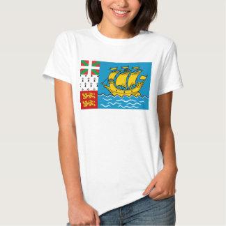 Saint Pierre and Miquelon Flag T Shirt