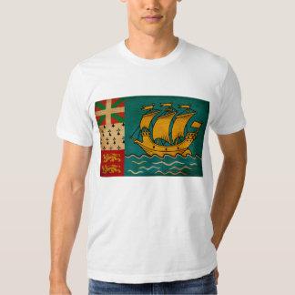 Saint Pierre and Miquelon Flag T-shirt