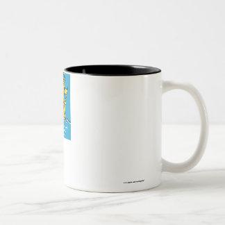 Saint-Pierre and Miquelon Flag Two-Tone Coffee Mug