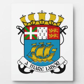 Saint Pierre and Miquelon (France) Coat of Arms Photo Plaque