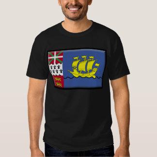 Saint Pierre and Miquelon (France) Flag Shirt
