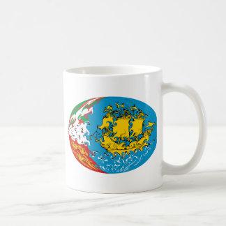 Saint Pierre and Miquelon Gnarly Flag Mug