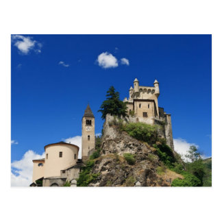 Saint Pierre Castle, Italy Postcard