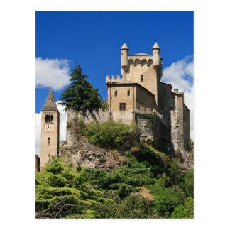 Saint Pierre Castle Postcard