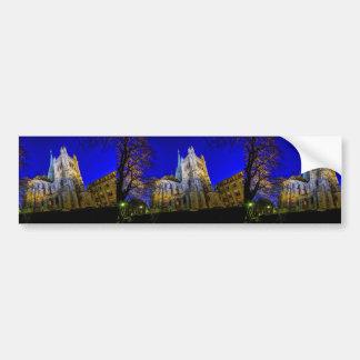 Saint-Pierre cathedral in Geneva, Switzerland Bumper Sticker