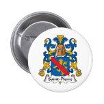 Saint-Pierre Family Crest Buttons