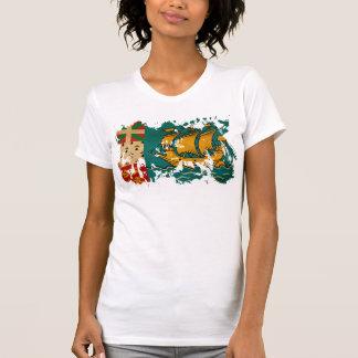 Saint Pierre y bandera de Miquelon T-shirt