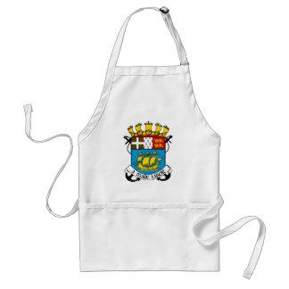 Saint Pierre y heráldica del escudo de armas de Mi Delantal