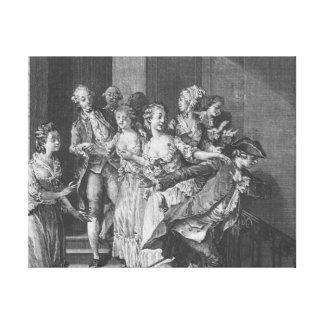 Saint-Preux escaping, volume I Canvas Print