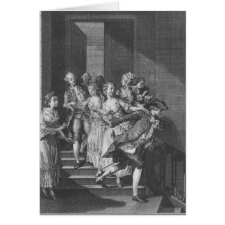 Saint-Preux escaping, volume I Card