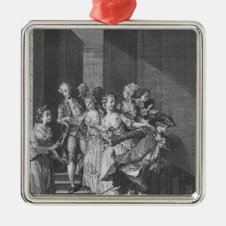 Saint-Preux escaping, volume I Christmas Ornament