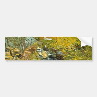 Saint-Remy by Vincent van Gogh Car Bumper Sticker