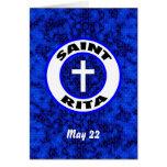 Saint Rita Greeting Cards