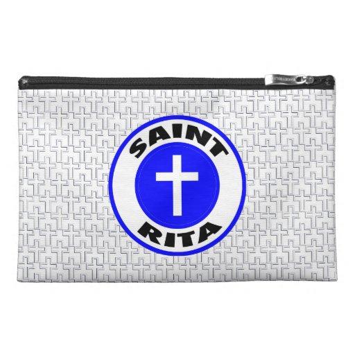 Saint Rita Travel Accessories Bag